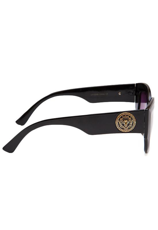 Accessories - Marty Sunglasses - Black/Purple