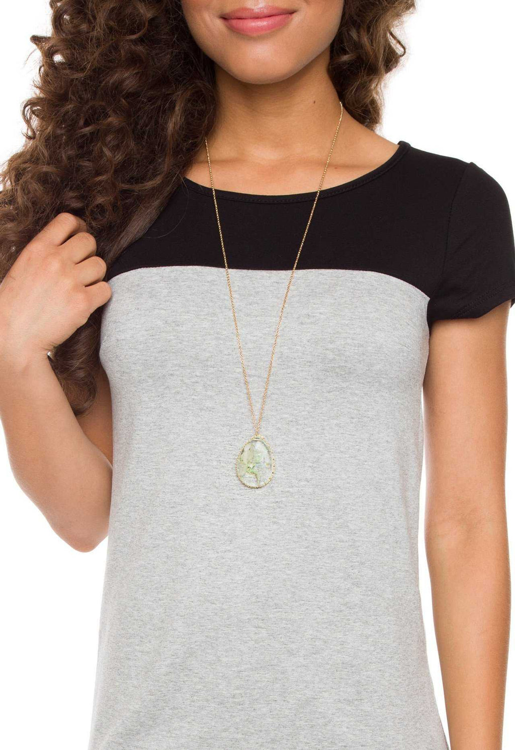 Accessories - Nala Necklace - Mint