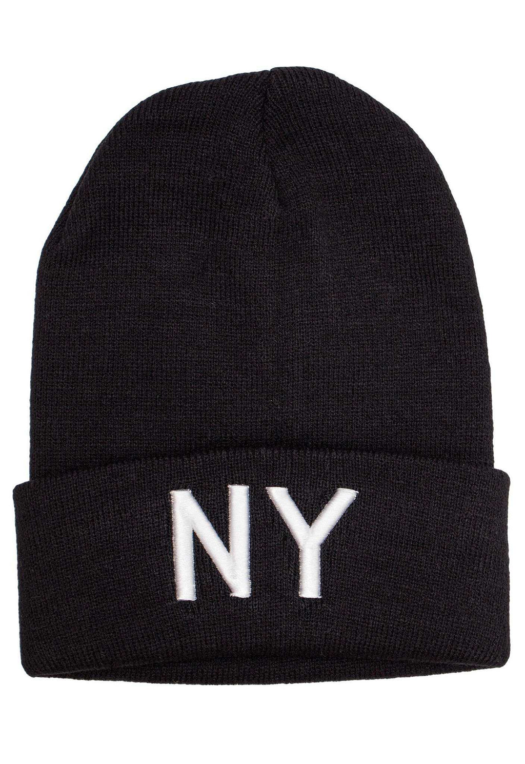 Accessories - NY Beanie - White