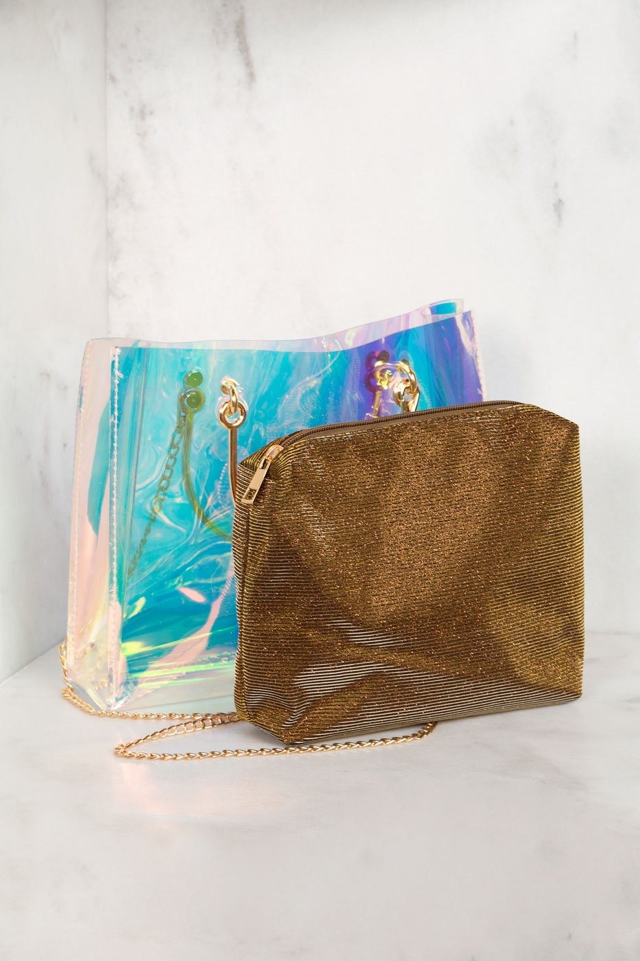 Accessories - Prismatic Handbag Set