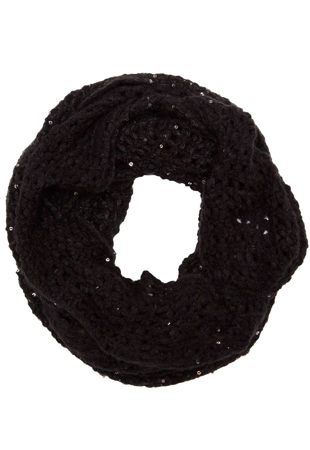 Accessories - Sinclair Infinity Scarf - Black