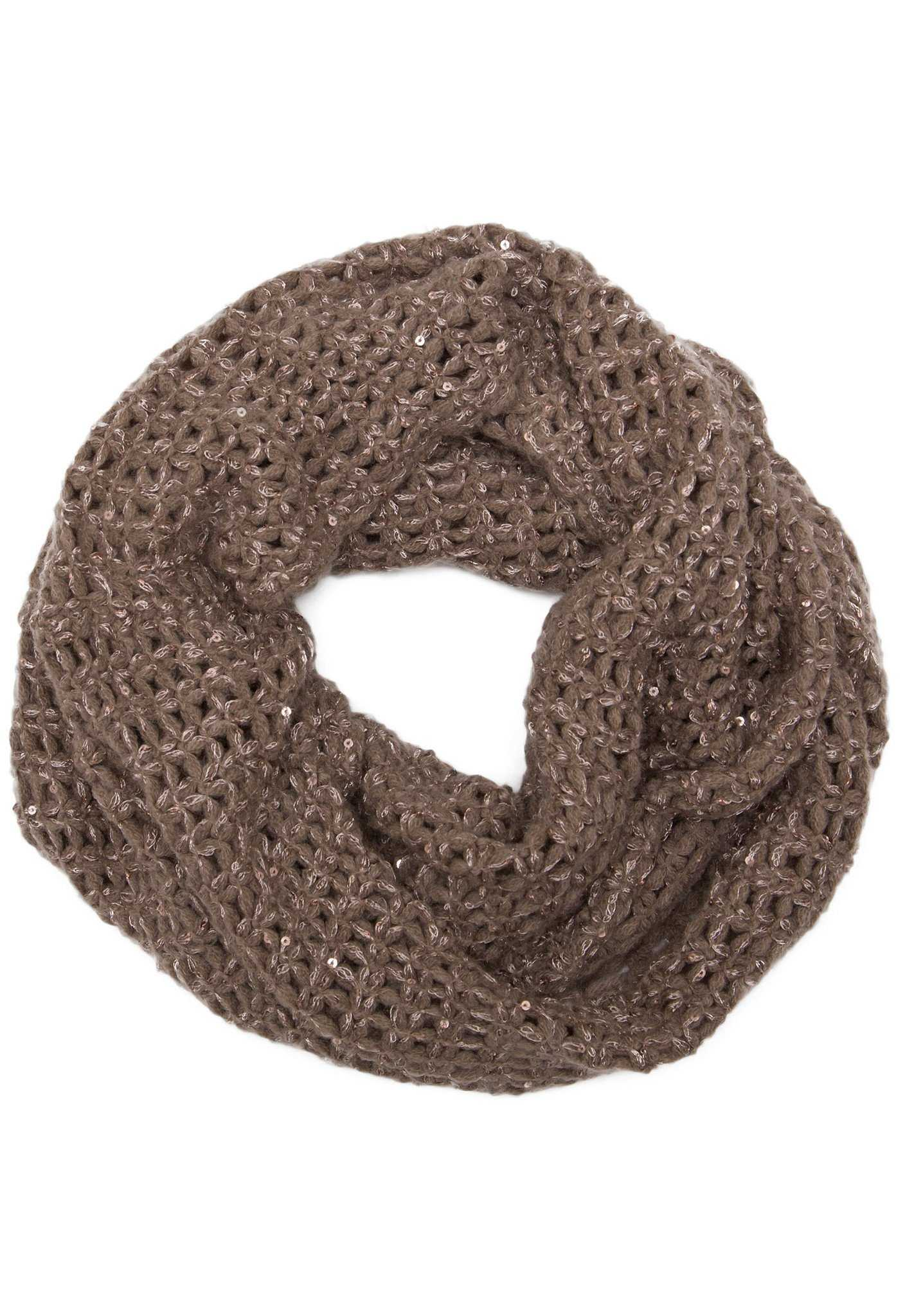 Sinclair Infinity Scarf - Taupe