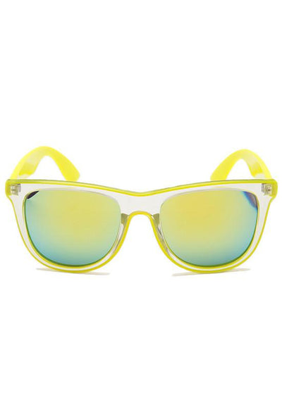 Accessories - Summer Break Sunglasses - Neon Yellow