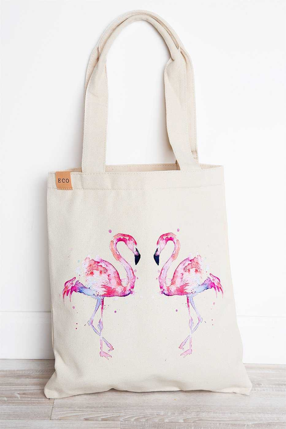Accessories - Sweet Summer Tote - Flamingo