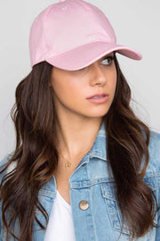Accessories - Tune In Baseball Cap - Pink