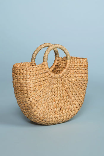 Accessories - Vacay Escape Straw Tote