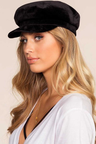 Accessories - Velveteen Fiddler Cap
