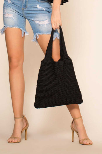 Accessories - Washed Up Tote - Black