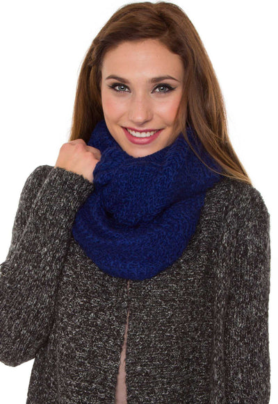 Accessories - Windsor Infinity Scarf - Blue