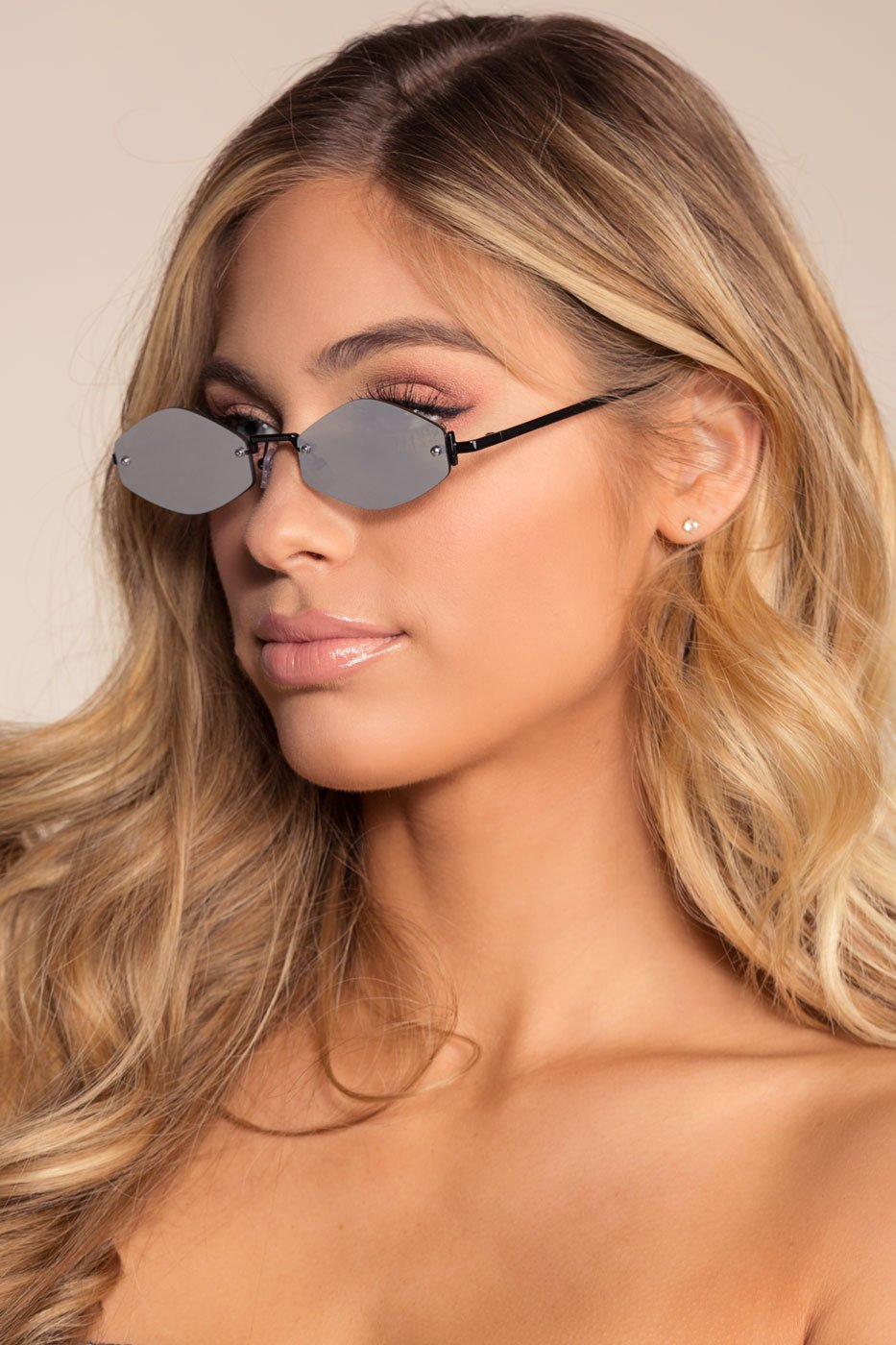 Accessories - Zoa Sunglasses - Black Mirrored