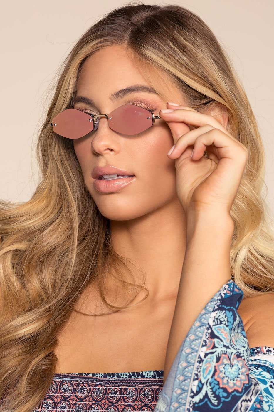 Accessories - Zoa Sunglasses - Rose