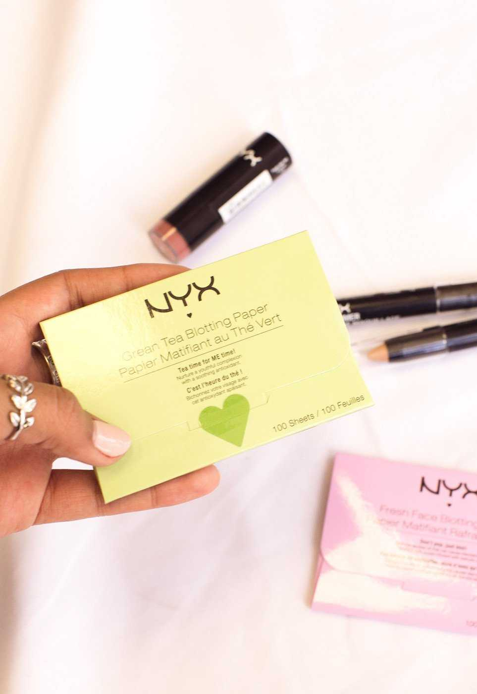 Beauty - NYX Face Blotting Paper - Green Tea