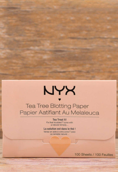 Beauty - NYX Face Blotting Paper - Tea Tree