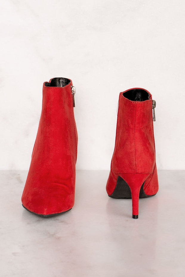 Booties - Longing Booties - Red