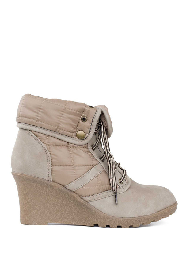 Booties - Northern Heights Booties In Taupe