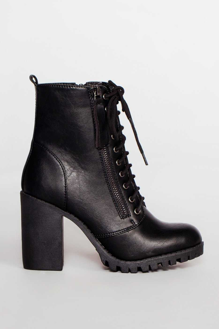 Edge Of Life Boots - Black by Priceless