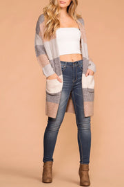 Above The Clouds Colorblock Cardigan