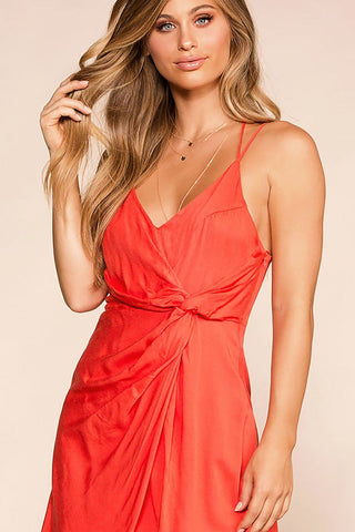 Angeline Honey Wrap Dress