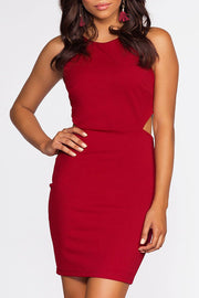 Mila Dress - Scarlet | Sole Mio