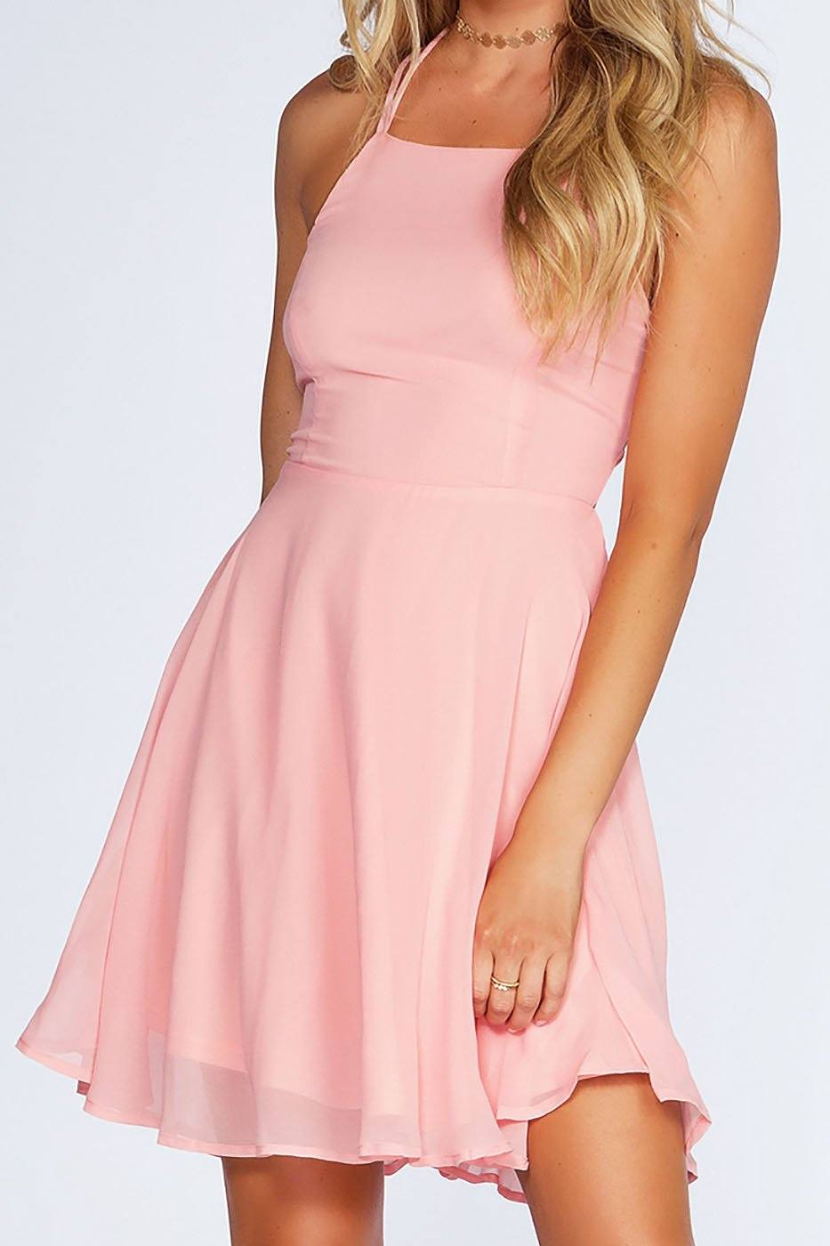 Roxy Dress - Blush | Listicle