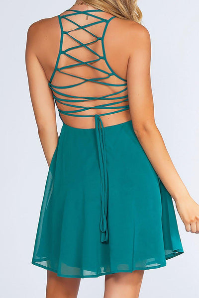 Roxy Dress - Teal | Listicle