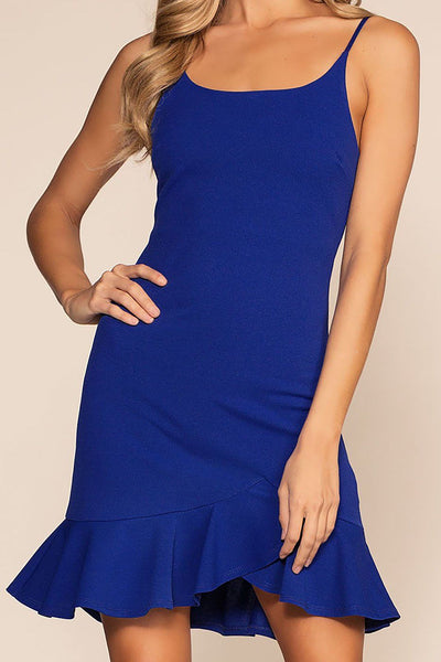 Sassafras Bodycon Dress - Royal Blue | Shop Priceless