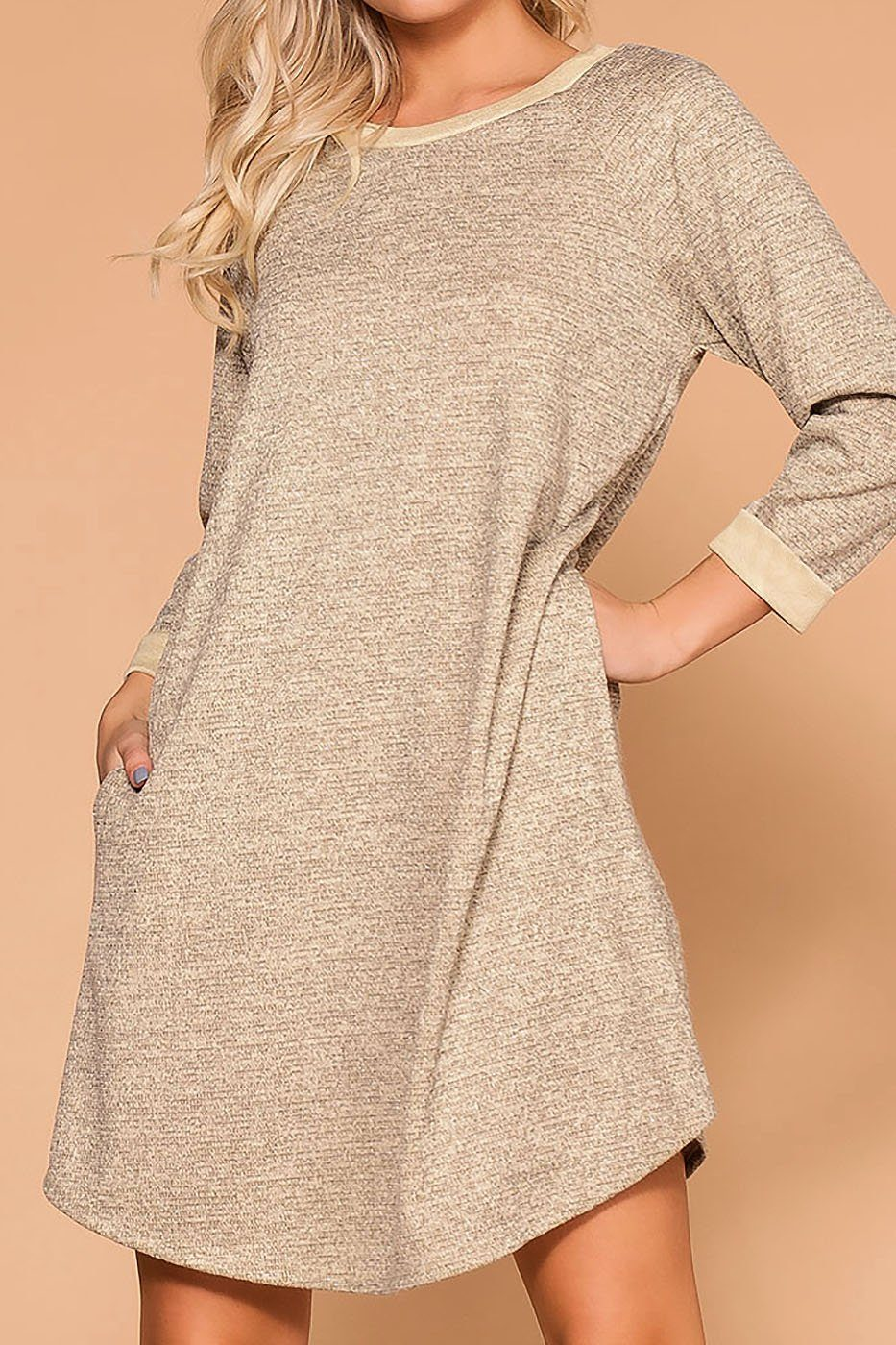 Simple Pleasures Pocket Shift Dress | Veveret