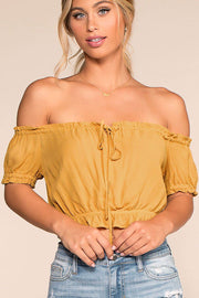 Summer Afternoon Top - Honey | Active Basic