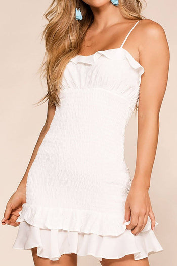 Sunday Afternoon White Mini Dress | idem ditto