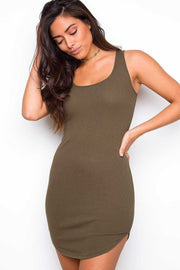 Dresses - Aster Dress - Olive