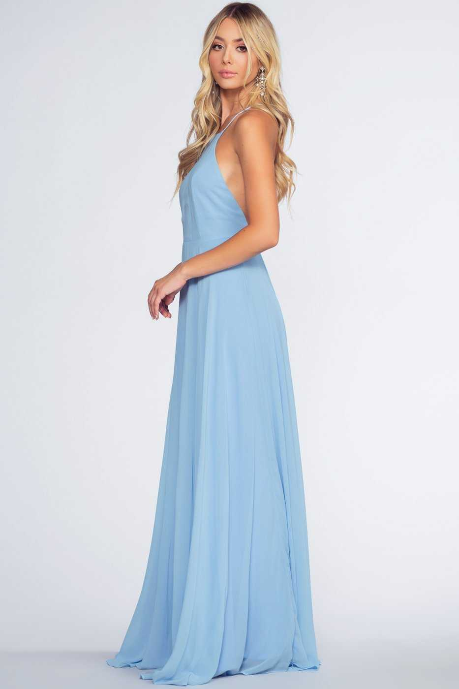 Dresses - Aurora Maxi Dress - Angel Blue