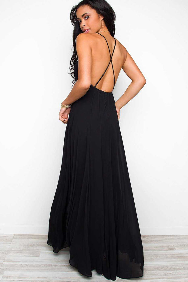 Dresses - Aurora Maxi Dress - Black