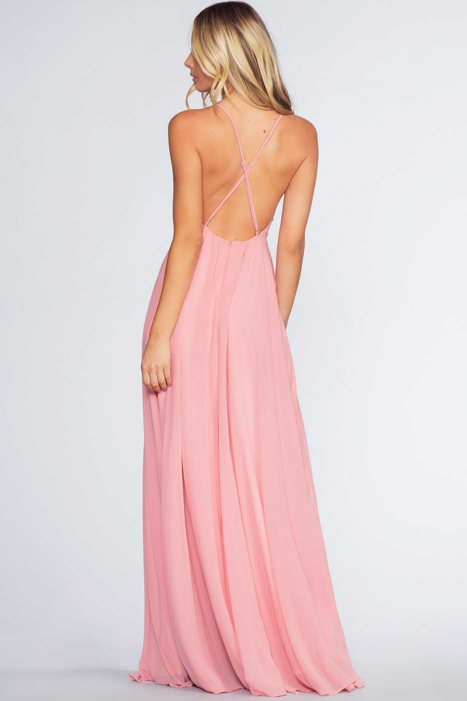 Dresses - Aurora Maxi Dress - Blush