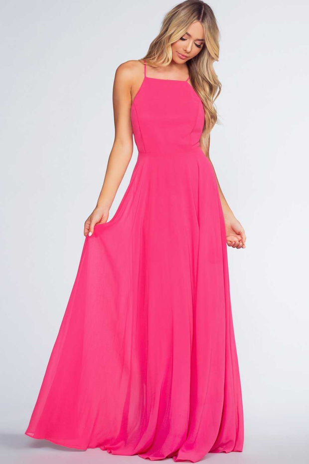 Dresses - Aurora Maxi Dress - Fuchsia