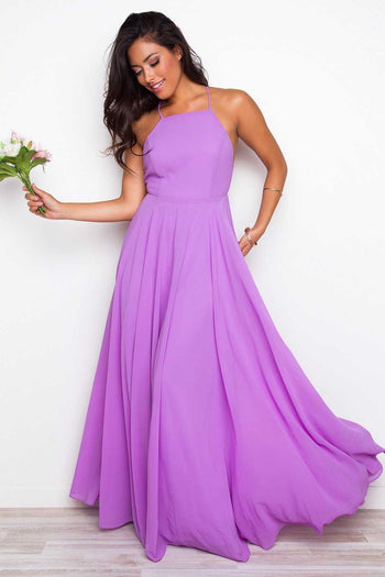 Dresses - Aurora Maxi Dress - Lilac