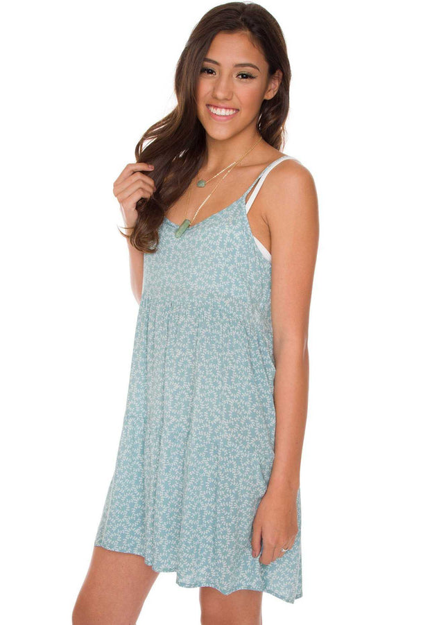 Dresses - Bri Floral Dress In Mint