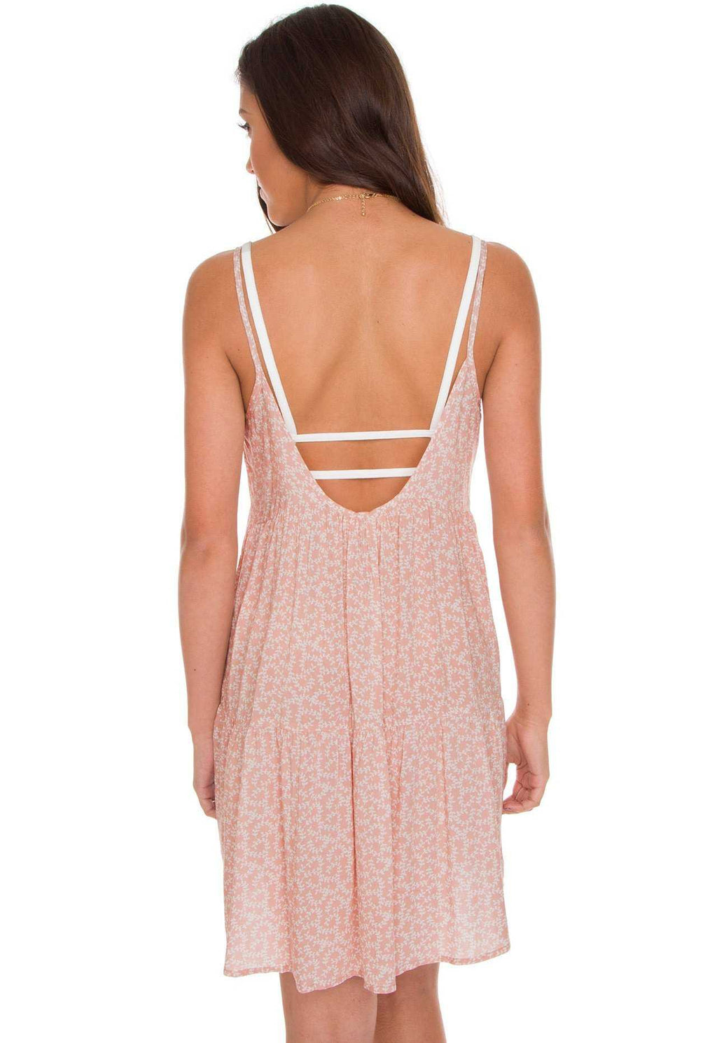 Dresses - Bri Floral Dress In Rose