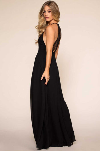 Dresses - Candlelight Maxi Dress - Black
