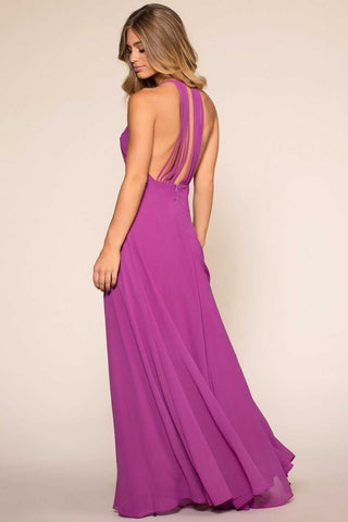 Aurora Maxi Dress - Purple