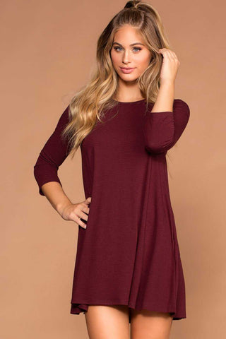 Hadley Dress - Taupe
