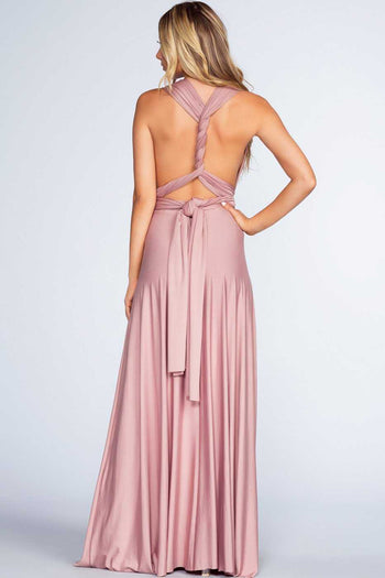 Dresses - Clarita Maxi Dress - Mauve
