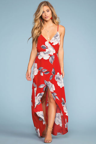 Sunup To Sundown Maxi Dress - Sage