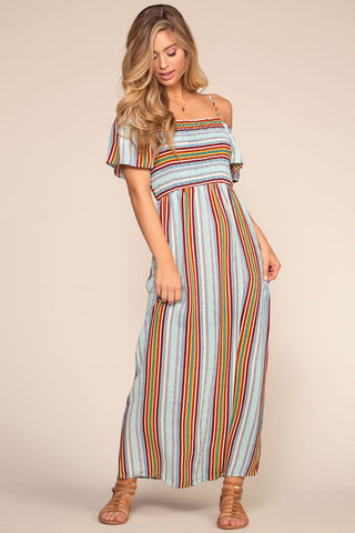 Aurora Maxi Dress - Fuchsia