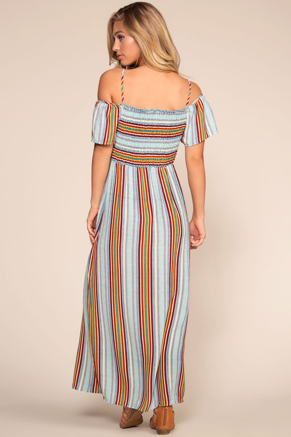 Multi Color Maxi Dress
