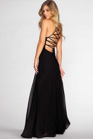 Crisom Maxi Dress - Black