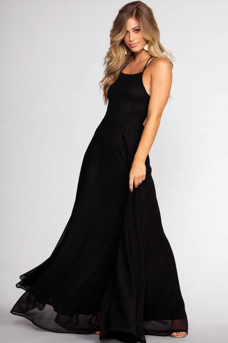 Dresses - Fairytale Ending Maxi Dress - Black