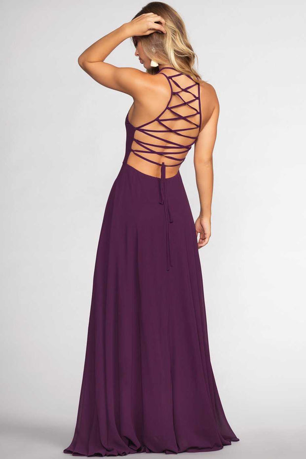 Dresses - Fairytale Ending Maxi Dress - Eggplant