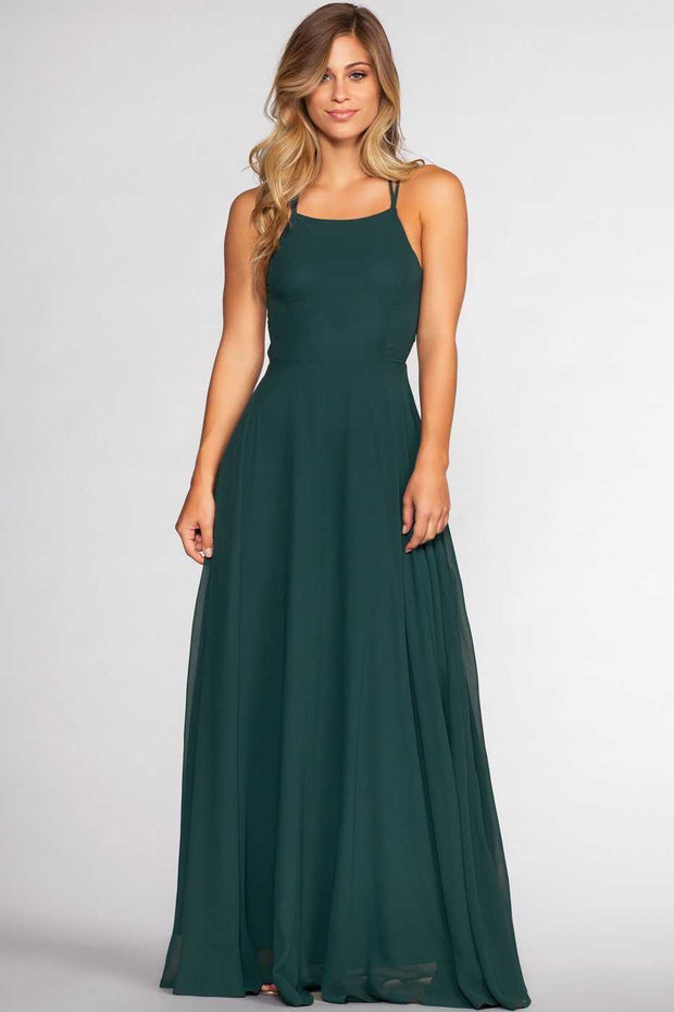Dresses - Fairytale Ending Maxi Dress - Hunter