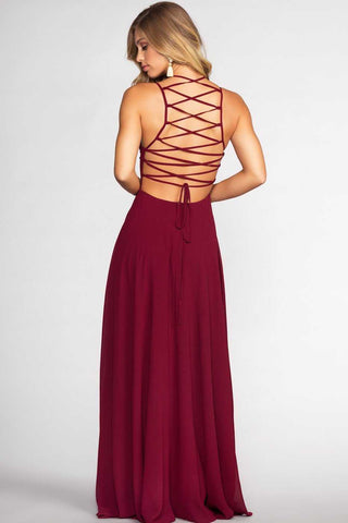 Fairytale Ending Maxi Dress - Hunter