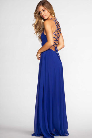 Sunup To Sundown Maxi Dress - Blue